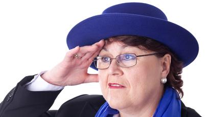 Mit dem Hut den Durchblick behalten!