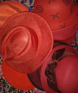 Die rote Hutfamilie