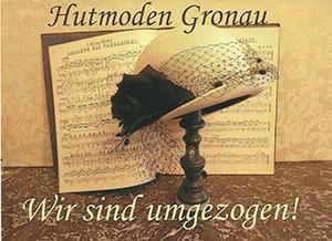 Hutmoden Gronau ist umgezogen