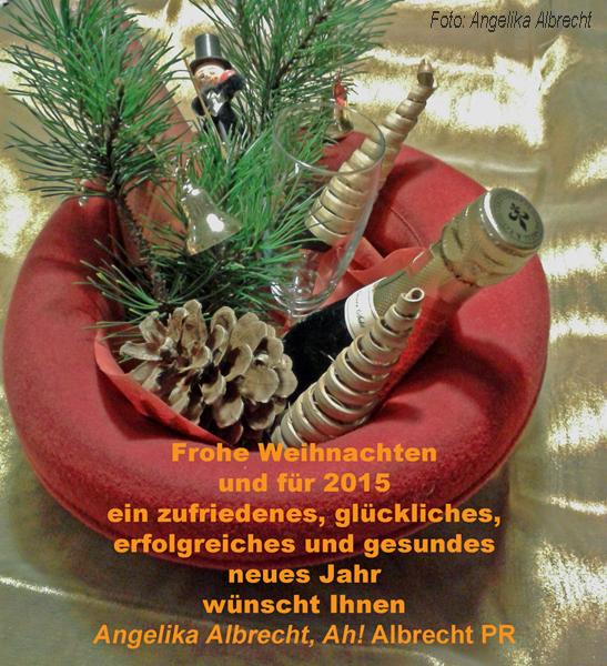 Der Weihnachtshut von Angelika Albrecht