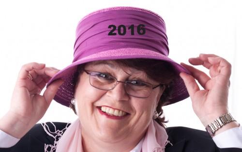 Hutbloggerin wünscht ein glückliches, erfolgreiches und hutreiches Jahr 2016!
