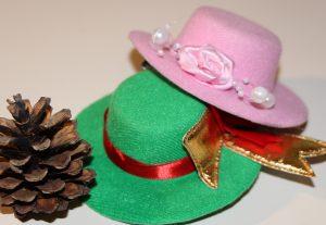 Minihüte in vielen Farben