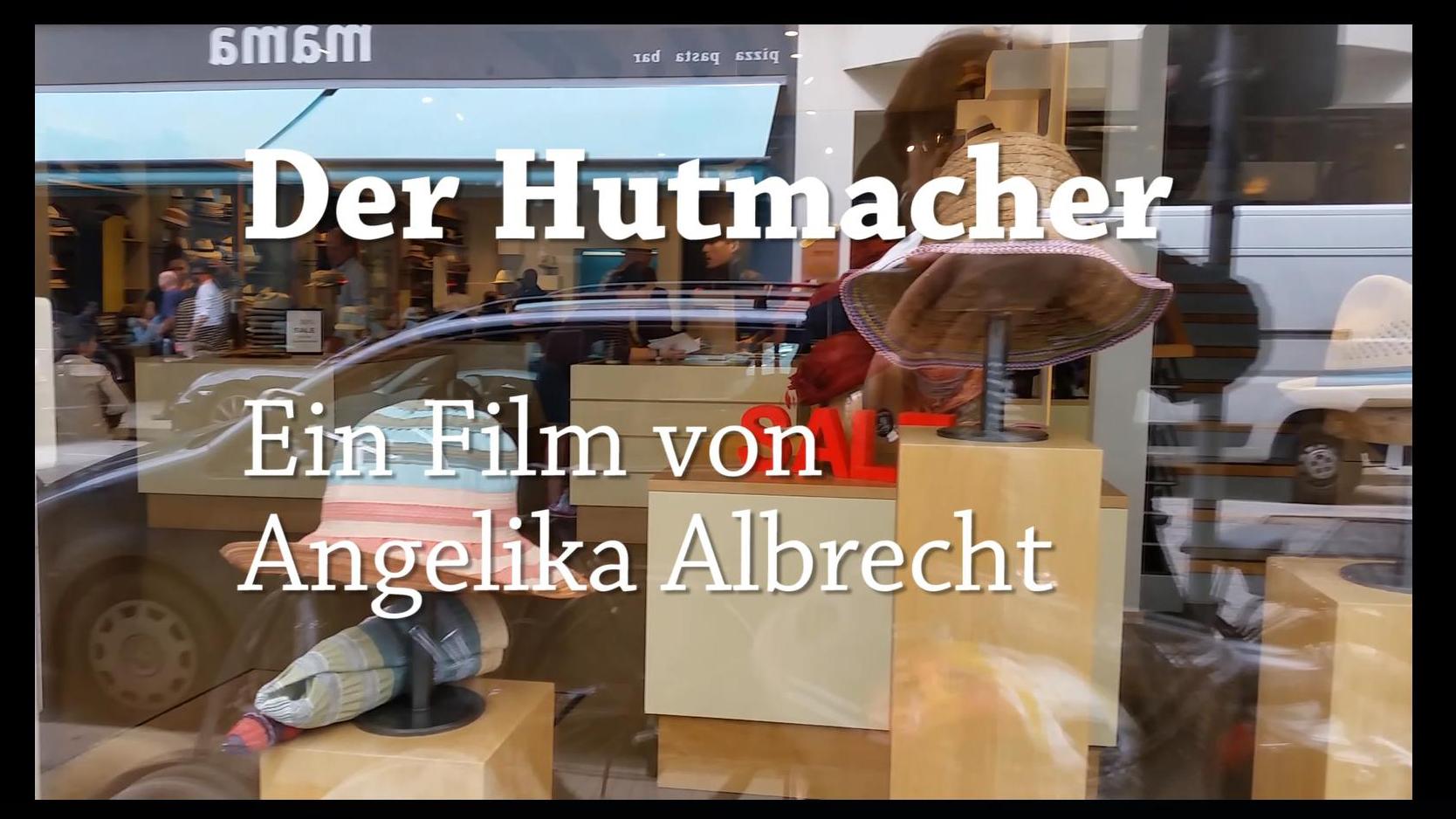 Hutbloggerin Angelika Albrecht zu Gast bei Hutmacher Falkenhagen