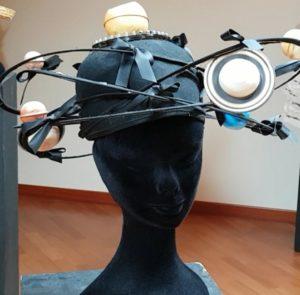 Ein Planetenhut: Planeten umkreisen den Kopf, Museum der verrückten Hüte, Albrecht