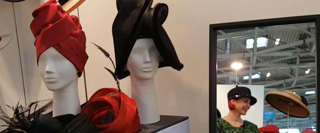 Unglaubliche Hüte auf der Handwerksmesse in München